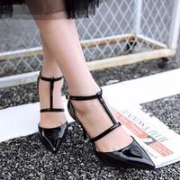 Giày cao gót nữ nhập khẩu GD856