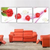 Tranh ghép nghệ thuật hoa hồng lãng mạn BINBIN TNT92