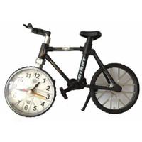 Đồng hồ để bàn hình xe đạp đen