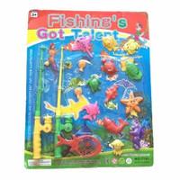 Bộ đồ chơi câu cá cho bé Fishing Green