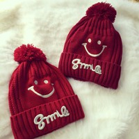 Mũ len nữ Smile