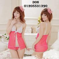 Váy Ngủ Sexy Ren D06