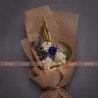 Hoa Khô: Tú cầu + Lavender + Khuynh diệp + Rong