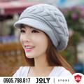 Nón len kiểu Hàn Quốc - Hàng nhập cao cấp