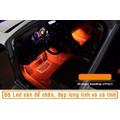 Đèn led trang trí sàn xe ô tô cảm biến âm thanh siêu hot