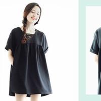 Đầm Babydoll Phối Ren