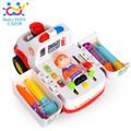 Bộ đồ chơi xe cứu thương và phụ kiện bác sỹ của hãng Huile Toys