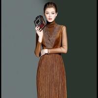 Đầm Kèm Áo HR1056