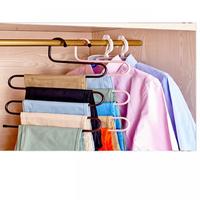 Bộ 2 móc treo quần áo và khăn 5 tầng