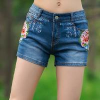 Quần shorts Jean nữ - QS011