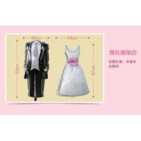Bóng hình váy cưới-vest