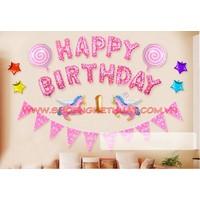 Bóng bay sinh nhật - Kẹo ngọt số 2