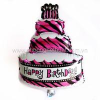 Bóng bay hình bánh sinh nhật