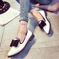 Giày oxford nơ đôi