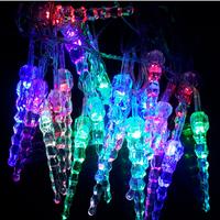 Dây đèn nháy 7 màu hình hoa lồng đèn sinh động