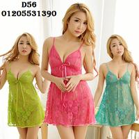 Váy Ngủ Sexy Ren D56