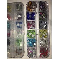 đá nails size 20  màu 1220 viên 12 màu