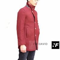 áo khoác dạ nam cao cấp xuất hàn David