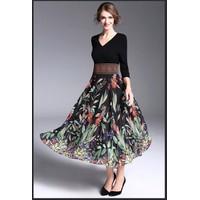 Đầm Maxi Hoa HR1075