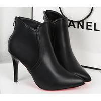 Hàng nhập - Giày Boots gót nhọn cao cấp
