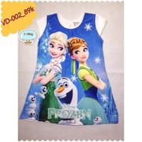 Đầm công chúa Elsa và Anna