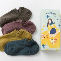 Combo 4 Đôi Vớ Nữ Style Hàn Quốc Chất vải Cotton siêu mát - 9209