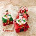 Hộp nhạc quả cầu tuyết Noel đèn led V2 - quà giáng sinh candyshop88.vn