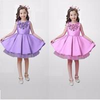 Đầm công chúa kim sa size nhí NX871