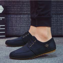 Giày lười nam cột dây GN145