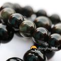 Vòng tay đá phong thủy may mắn Obsidian Rainbow