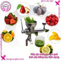 Máy ép nước rau củ quả - trái cây bằng tay tiện dụng