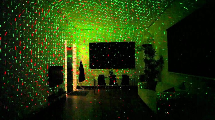Đèn trang trí Laser STAR SHOWER 4