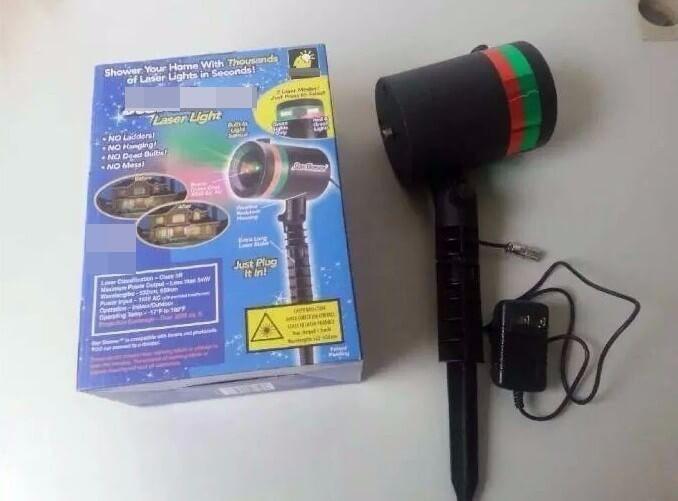 Đèn trang trí Laser STAR SHOWER 2
