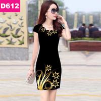 Đầm 3D Hàn Quốc