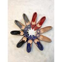 Giày cao gót đính đá nhập khẩu