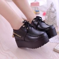 BM01D. - Giày bánh mì đế độn phong cách Hàn Quốc