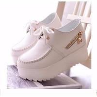 BM01T - Giày bánh mì đế độn phong cách Hàn Quốc