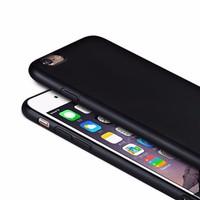 Ốp lưng iphone 6plus dẻo đen nhám
