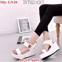 Giày sandal nữ phối kim loại cực xinh - GN20