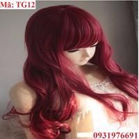 Tóc giả nhuộm Hàn Quốc phong cách,cá tính - TG12