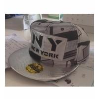 NÓN SNAPBACK MÀU NEW YORK Mã: CK0206 - XÁM