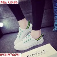 Giày lười nữ cá tính thể thao - GN86