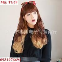 Tóc giả Hàn Quốc nữ nhuộm light - TG29
