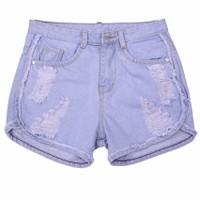Quần Short  Jeans Nữ ZENKO QUAN SHORTS NU 019 D