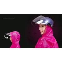 Áo Mưa Đơn 1 người có kính chắn mưa và khẩu trang chống nước