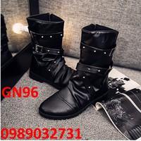 Giày Bốt Nam phong cach  cao cấp Hàn Quốc - GN96
