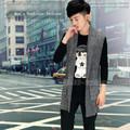 Hàng nhập khẩu, Áo Cardigan len dáng dài, form Hàn Quốc - Mã số:AL1601