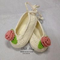 Giày len handmade