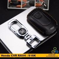 Móc khóa kèm bao da logo Honda