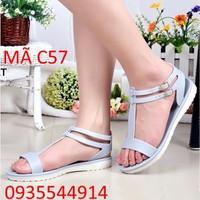 Giày Sandal nữ cực xinh Hàn Quốc C57